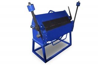 Ручной сегментный листогиб усиленный с противовесами ЛУП-1300
