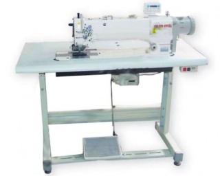 Двухигольная промышленная швейная машина GOLDEN WHEEL CS-8172D-MBFT-P со встроенным серво-мотором