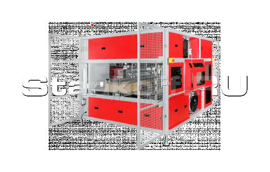 Высокоскоростная стреппинг машина для обвязки картона TP-CIL-16T