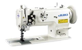 Двухигольная промышленная швейная машина с тройным продвижением JUKI LU-1565N