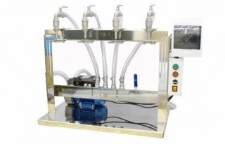 Аппарат розлива жидкостей без газа Filler-4F