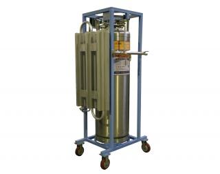 Вертикальный холодный криогенный газификатор ГХК-В-0,2/2,88-10