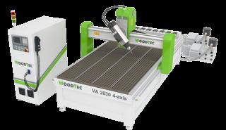 Фрезерно-гравировальный станок с ЧПУ с автоматический сменой инструмента Woodtec VA-2030 4-axis