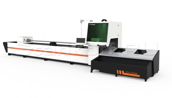 Оптоволоконная установка лазерной резки труб XTC-T60020/750 Raycus