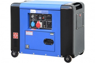 Дизельный генератор TSS SDG 6000ES3-2R 6 кВт