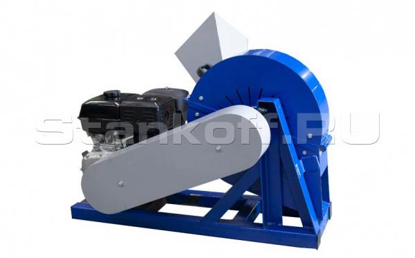 Промышленный щепорез Стилет М-600 (бензиновый двигатель)