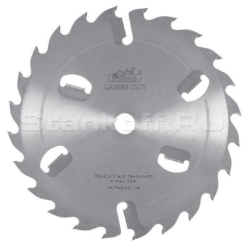 Пильные диски для многопильных станков A-35028