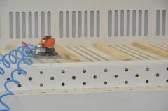 Автономный стол для шлифовальных работ, исполнение из окрашенного металла GS-2500A