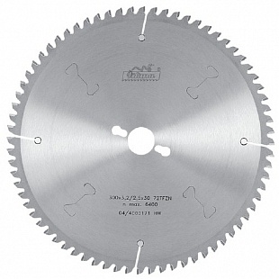Отрезные диски с твердосплавными напайками для резки цветных металлов и пластика 450 х 4,0/3,2