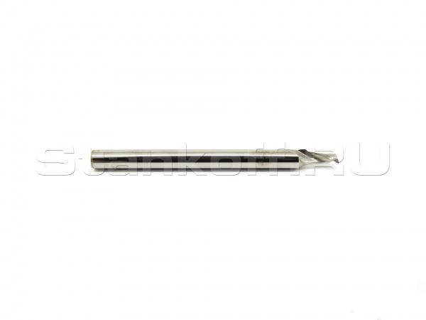 Фреза cпиральная однозаходная по алюминию, меди, латуни  AAL1LX3.2.504