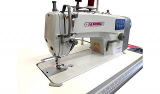 Прямострочная машина для легких и средних материалов с автоматической обрезкой нити Aurora V-2