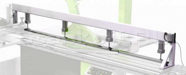 Двухсекционная прижимная пневмобалка WoodTec PPB2-3200