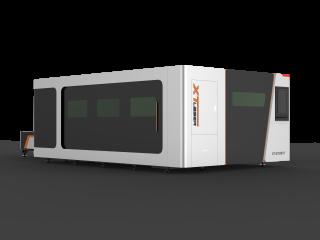 Станок оптоволоконной лазерной резки с труборезом закрытого типа XTC-1530GT/2500 IPG