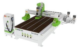 Фрезерно-гравировальный станок с ЧПУ Woodtec HA 2030