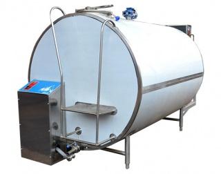 Молочный танк-охладитель закрытого типа ОМЗТ-8000