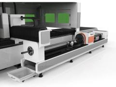 Волоконный лазер для резки металла с труборезом и кабинетной защитой ProfCut GRA3015/3000 IPG