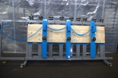 Пресс пневматический для бруса и щита SLP125-4-1350