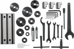 Настольный токарно-фрезерный станок по металлу JET BD-10DMA