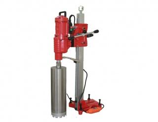 Алмазная бурильная установка V-Drill 355N c наклонной стойкой