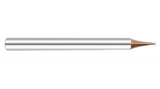Микрофреза спиральная 35° двухзаходная с покрытием AlTiN DJTOL KS2MLX0.3