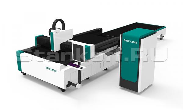 Оптоволоконный лазерный станок для резки металла со сменным столом OR-E1530/3000 IPG