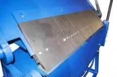 Ручной сегментный листогиб усиленный с противовесами ЛУП-1500