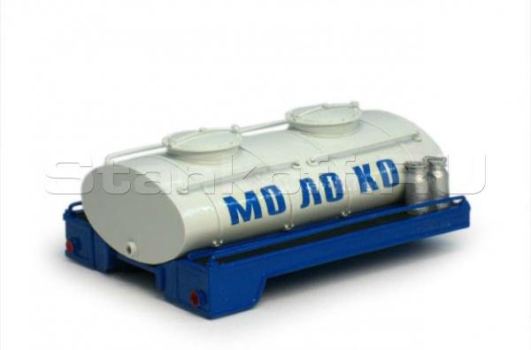 Цистерна для перевозки молока ЦМ-8000