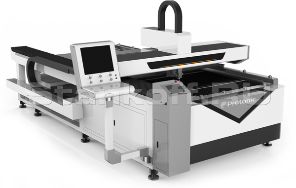 Оптоволоконный станок лазерной резки металла LF1325LC/1000 Raycus