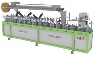 Станок для облицовывания погонажных изделий WoodTec PROFILINER