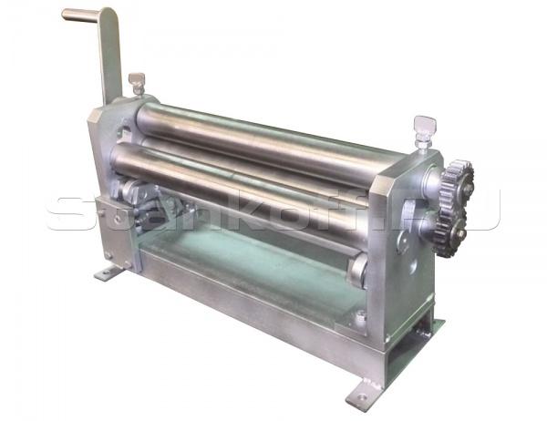 Ручной вальцовочный станок для листового металла ТВ-500х4