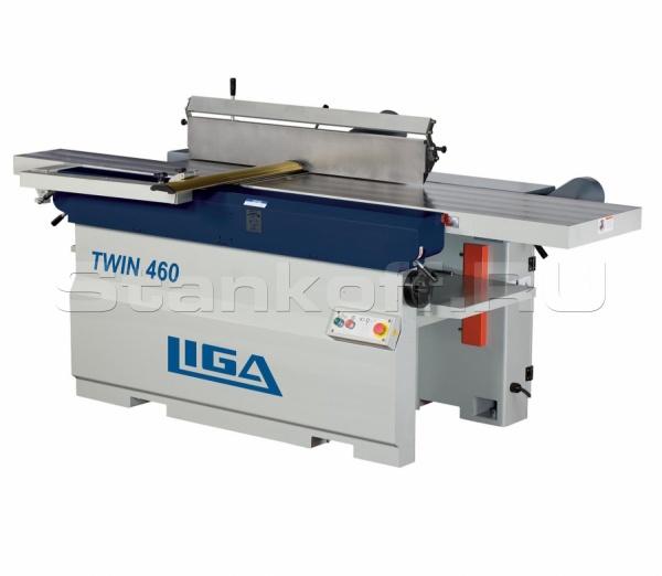 Станок рейсмусно-фуговальный LIGA TWIN-460