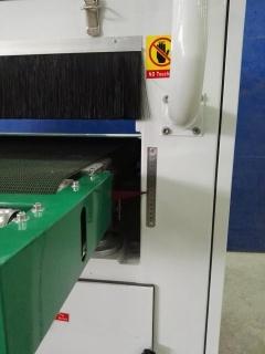 Рельефно-шлифовальный станок с 2-мя лепестковыми барабанами DT 1300-2