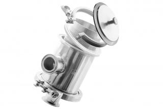 Щелевой молочный фильтр предварительной очистки UV-MPO