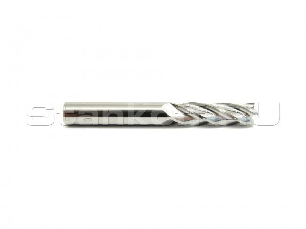 Фреза спиральная четырехзаходная стружка вверх N4LX422