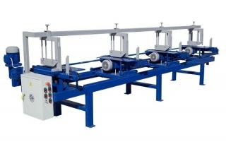 Торцовочный станок проходного типа Стилет ТСП-100/4-4000