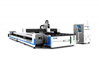 Оптоволоконный лазерный станок для резки листов металла и труб TC-F3015T/4000 IPG