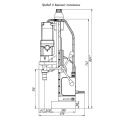Сверлильный станок на магните MBSR 100