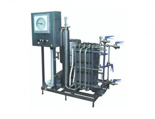 Пластинчатая пастеризационно-охладительная установка для молока ПП-1000