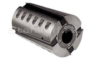 Фреза цилиндрическая фуговальная с аксиальным разворотом ножа для строгального станка 090.39.00.00.000