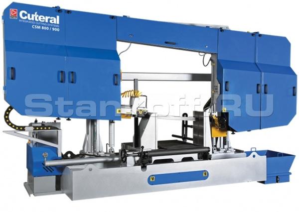 Станок ленточнопильный полуавтоматический CUTERAL CSM 800/900