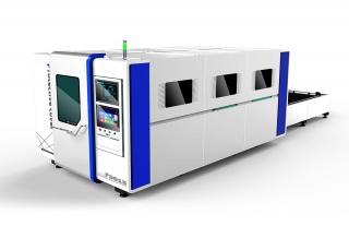 Оптоволоконный лазер для резки металла в защитной кабине TC-P3015/6000 Raycus