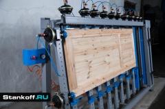 Пневматическая вайма для каркасных конструкций и мебельных щитов ВП17-2400Б