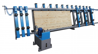 Пресс гидравлический SLH150-6GRP
