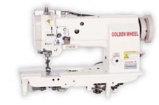 Двухигольная машина с тройным продвижением GOLDEN WHEEL CSU-4252