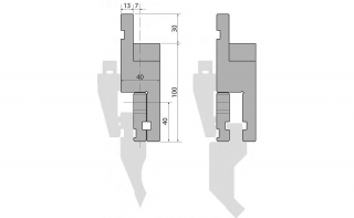 Адаптер пуансона INT100-A