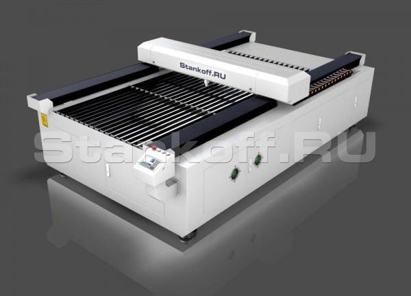 Лазерный станок для резки металлов и неметаллов с ЧПУ LM HYBRID 1325/300 Вт