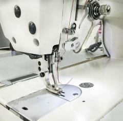 Прямострочная промышленная швейная машина с шагающей лапкой Aurora A-9312L с прямым приводом и автоматическими функциями