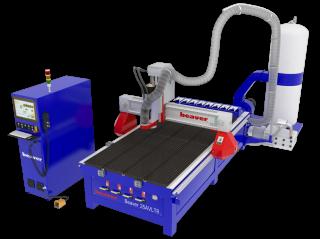 Фрезерно-гравировальный станок с автоматической сменой инструмента Beaver 25 AVLT8