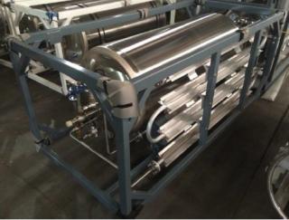 Газификатор кислорода и азота горизонтального типа ГХК-0,5/1,6-50