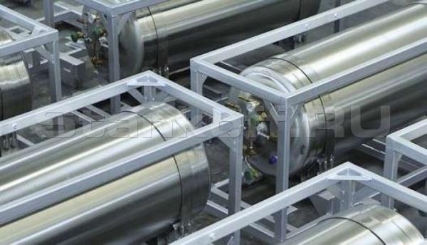 Горизонтальный криогенный газификатор DPW-495/1,6-50